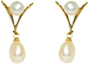 MP Fine Jewellery Wimsome Pair of Tops Zircon Alloy Drop Earring
