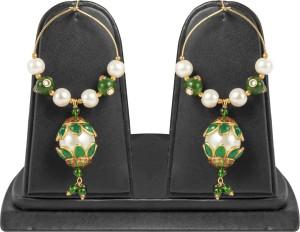 Jewels Gold Cubic Zirconia Alloy Huggie Earring