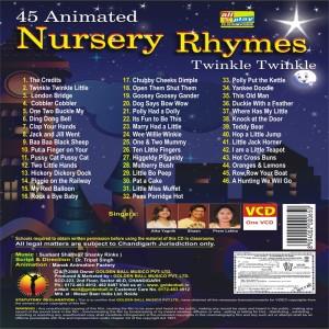 Golden Ball 45 Animated Nursery Rhymes