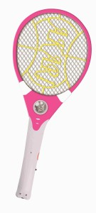 Akari Rechargeable Mosquito Insect Killer Racket With Led Torch (Color May Vary) Electric Insect Killer