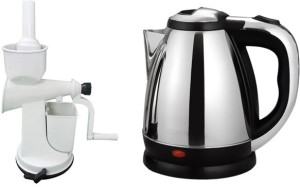 Black Cat Hand juicer with Anmol TR-1108 Electric Kettle