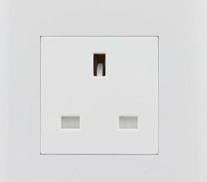 Siemens 5UBO 624 1-NL 13 Three Pin Socket