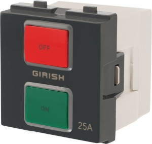 05fee7bba1a Girish VOX 25 One Way Electrical Switch Pack of 10 Number of ...