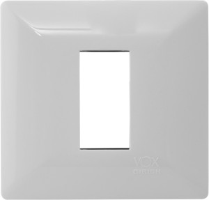 04747fdb2ca Girish VOX Wall Plate White Best Price in India