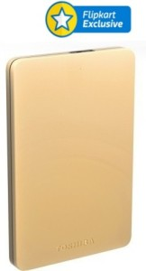 Toshiba Canvio Alumy 2 TB Wired External Hard Disk Drive