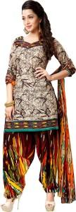 Kalinda Crepe Printed Salwar Suit Dupatta Material