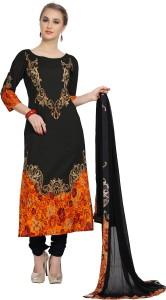 Ziyaa Cotton Printed Salwar Suit Dupatta Material