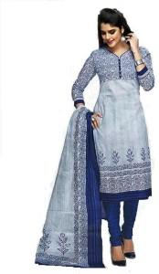 Shree Ganesh Cotton Floral Print Salwar Suit Dupatta Material
