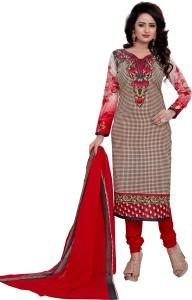 fashion ritmo Cotton Printed Salwar Suit Dupatta Material