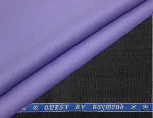 dcb20386d Raymond Cotton Polyester Blend Self Design Shirt Trouser Fabric Un ...