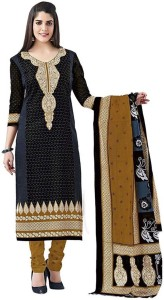 Fashion On Sky Cotton Polyester Blend Printed Salwar Suit Dupatta Material