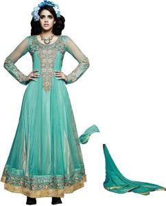 MF Net Embroidered Salwar Suit Dupatta Material