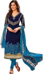Jevi Prints Synthetic Printed, Floral Print Salwar Suit Dupatta Material