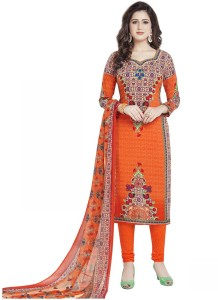 Varsha Collection Synthetic Printed Salwar Suit Material