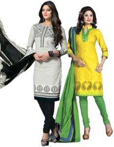 Priyanshi Cotton Printed Salwar Suit Dupatta Material