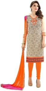 Paroma Art Chanderi Printed Salwar Suit Dupatta Material