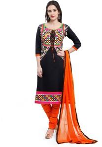 Ishin Crepe Printed Salwar Suit Dupatta Material
