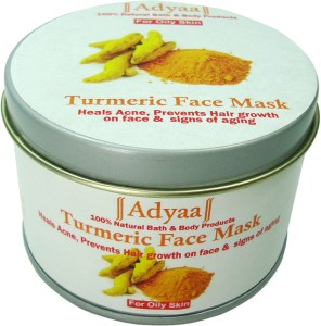 Adyaa Naturals Turmeric Face Mask Oily Skin 50 g Best Price in India ...