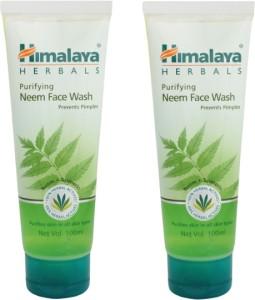 Himalaya Purifying Neem Face Wash - Pack of 2 Face Wash