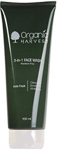 Organic Harvest Organic Harvest 3-In-1 Face Wash 100 ml Face Wash