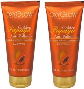 Oxyglow Golden Papaya Anti Pollution  Face Wash