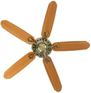 Usha hunter savoy bright brass 1320 5 blade ceiling fan brown best usha hunter savoy bright brass 1320 5 blade ceiling fanbrown aloadofball Image collections