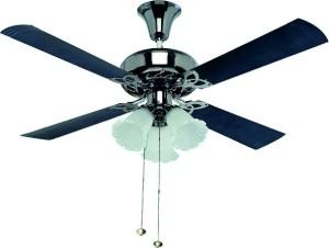 Crompton URANUS1200BLK 4 Blade Ceiling Fan Blue Best Price in India ...
