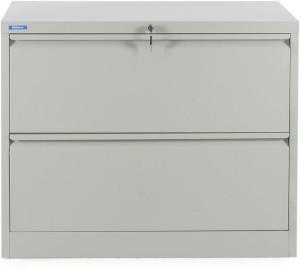 Nill Retro Metal Vertical Filing Cabinet Finish Color Grey