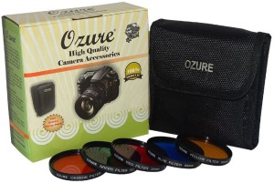 Ozure Color Filter kit 55 mm Set of 5pc Color Effect Filter
