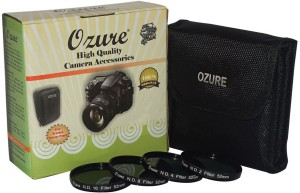ozure ND Filter kit 52mm Set of 4pc ND Filter