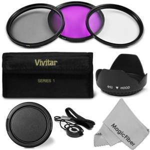 Goja 52Mm Professional Lens Filter Accessory Kit For Nikon Polarizing Filter (CPL)