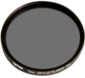 Tiffen 72mm Circular Polarizing Filter (CPL)