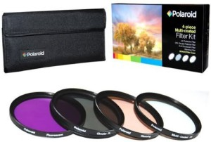 Polaroid 4 Piece Filter Set For The Canon Digital Series Polarizing Filter (CPL)