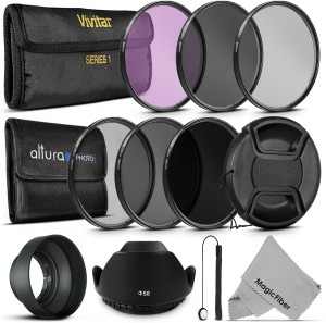 Goja 58Mm Must Have Lens Filter Accessory Kit For Canon Polarizing Filter (CPL)