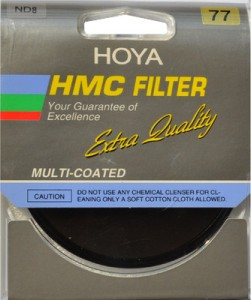 Hoya 77 mm HMC (NDX8) Neutral Density Special Effects Filter