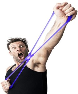 Kelley Exercises Workout To Burn Up Your Muscles In Home/Gym Training Silicon Resistance Band