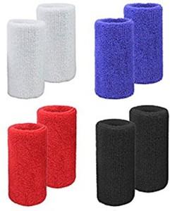 NHD Unisex Sweat Wristband (Pack of 4) Fitness Band