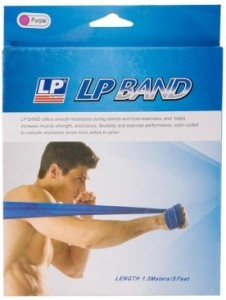 LP Fitness Accessories Resistance Band Purple, Pack of 1