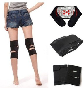 9fa54bdcb6 Hot Shapers knee magnetic kneepad support with velcro strap Fitness Grip