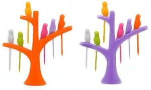 Lovato dyna Plastic Salad Fork, Fruit Fork Set