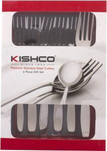 Kishco Stainless Steel Dessert Fork Set