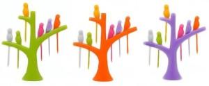 Lovato Plastic Salad Fork, Fruit Fork Set