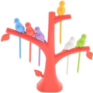 Ankur Plastic Fruit Fork