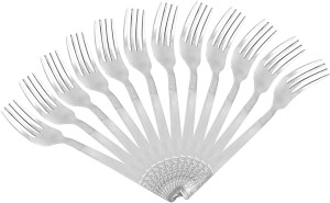 Shapes Premium Quality Stainless Steel Baby Fork Set