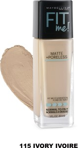 Maybelline Fit me matte+poreless Foundation