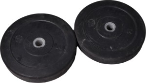 Royal 7.5kg_2pc_Low_Cost_black_plates_For_22mm_Rod Weight Plate
