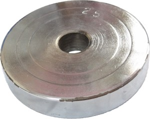 Royal Chrome - Silver Weight Plate