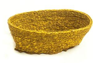 Rista Handicrafts Bath/Gift Hamper Jute Fruit & Vegetable Basket