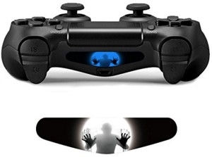 Al pacino unique zombie led light bar decal sticker for ps4 al pacino unique zombie led light bar decal sticker for ps4 controller gaming accessory kitblack blue for ps4 aloadofball Choice Image