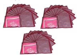 Addyz Plain Pack Of 36 Saree Cover Keep 1 each